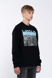 WORLD BLACK - SWEATSHIRT
