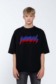 FLASHBACK BLACK - BOX TEE