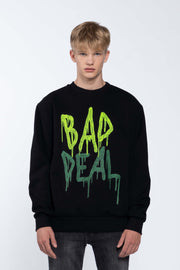 BLOOD LIME BLACK - SWEATSHIRT