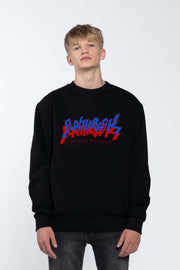 FLASHBACK BLACK - SWEATSHIRT