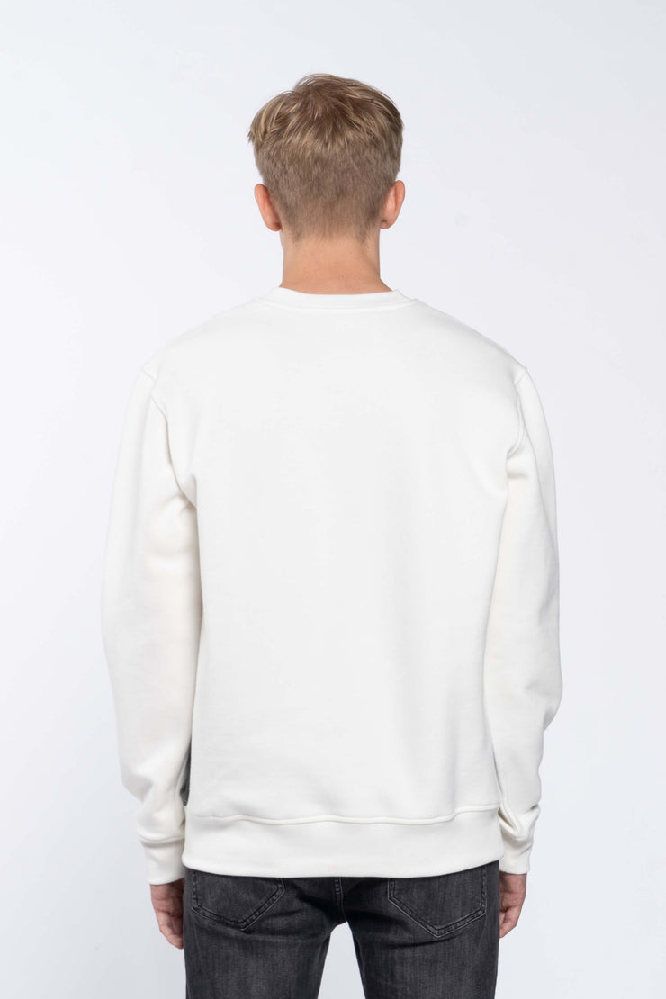 CAMERA WHITE - SWEATSHIRT