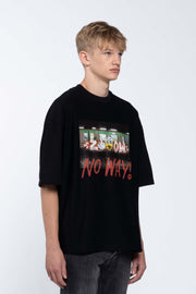 NO WAY BLACK - BOX TEE