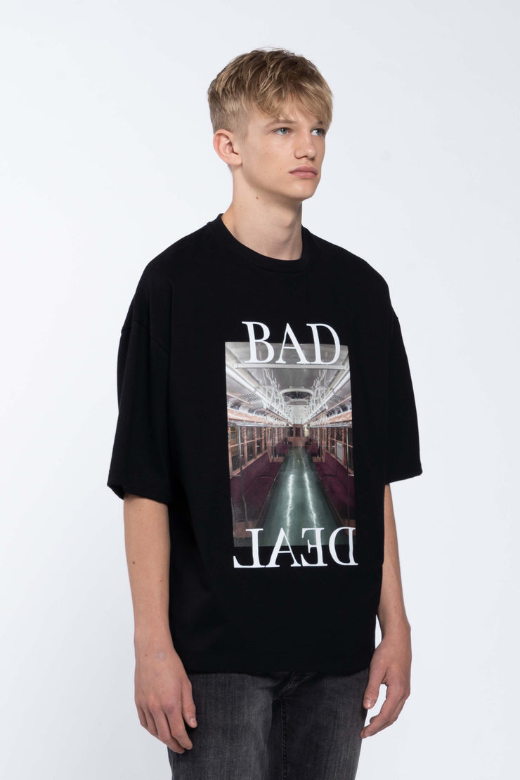 TRAIN BLACK - BOX TEE