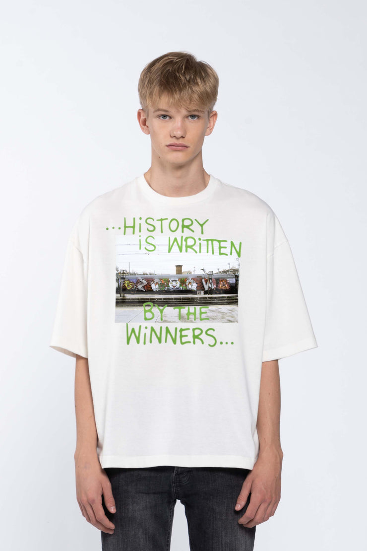 WINNERS WHITE - BOX TEE