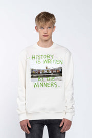 WINNERS WHITE - SWEATSHIRT