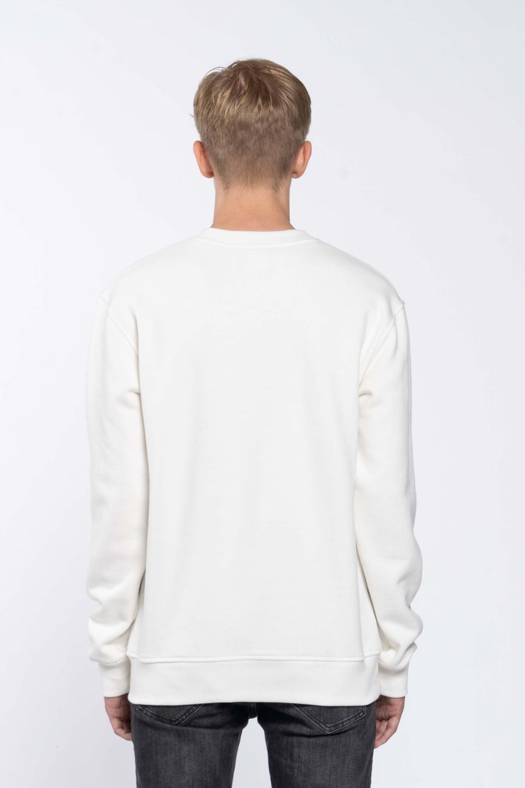 FLASHBACK WHITE - SWEATSHIRT