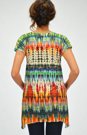 56e00b2bad3 Womens tunic top by Amma, available in plus sizes.