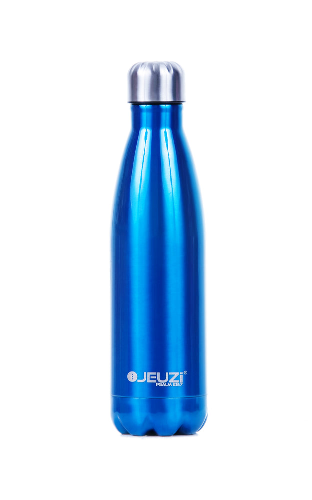 GLACIER BLUE INSULATED WATER BOTTLE 17oz