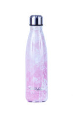 PINK MARBLE INSULATED WATER BOTTLE 17oz