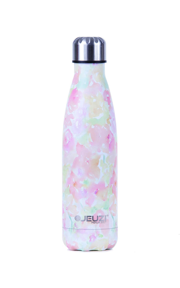 Best insulated water bottle. Spring showers bring may flowers! Do not get caught in the rain without this gorgeous floresque print bottle that is sure to keep your drink fresh.Find your at jeuzi.com