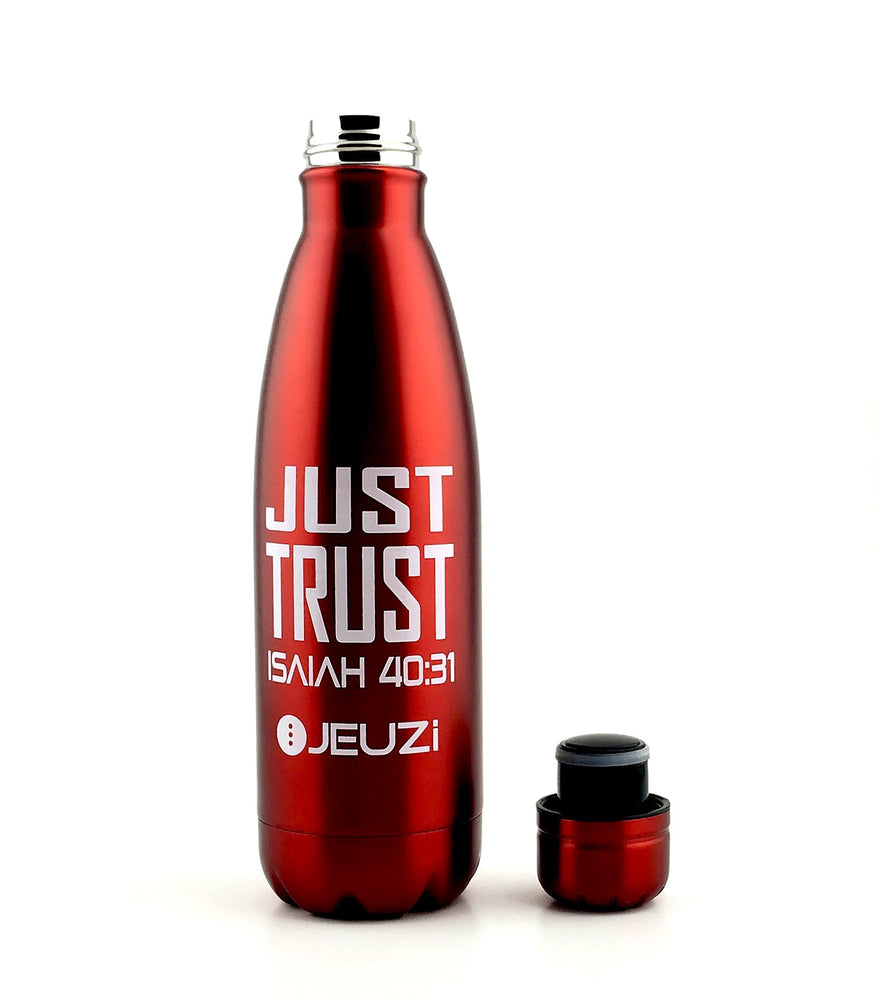 The Best INSULATED WATER BOTTLE| FAITH  |  17oz|JEUZi.com