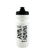 YAHWEH THE WAY Sport & Bike Water bottles. White Purist 22oz