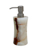 Vinca Collection Light Green Onyx Soap Dispenser