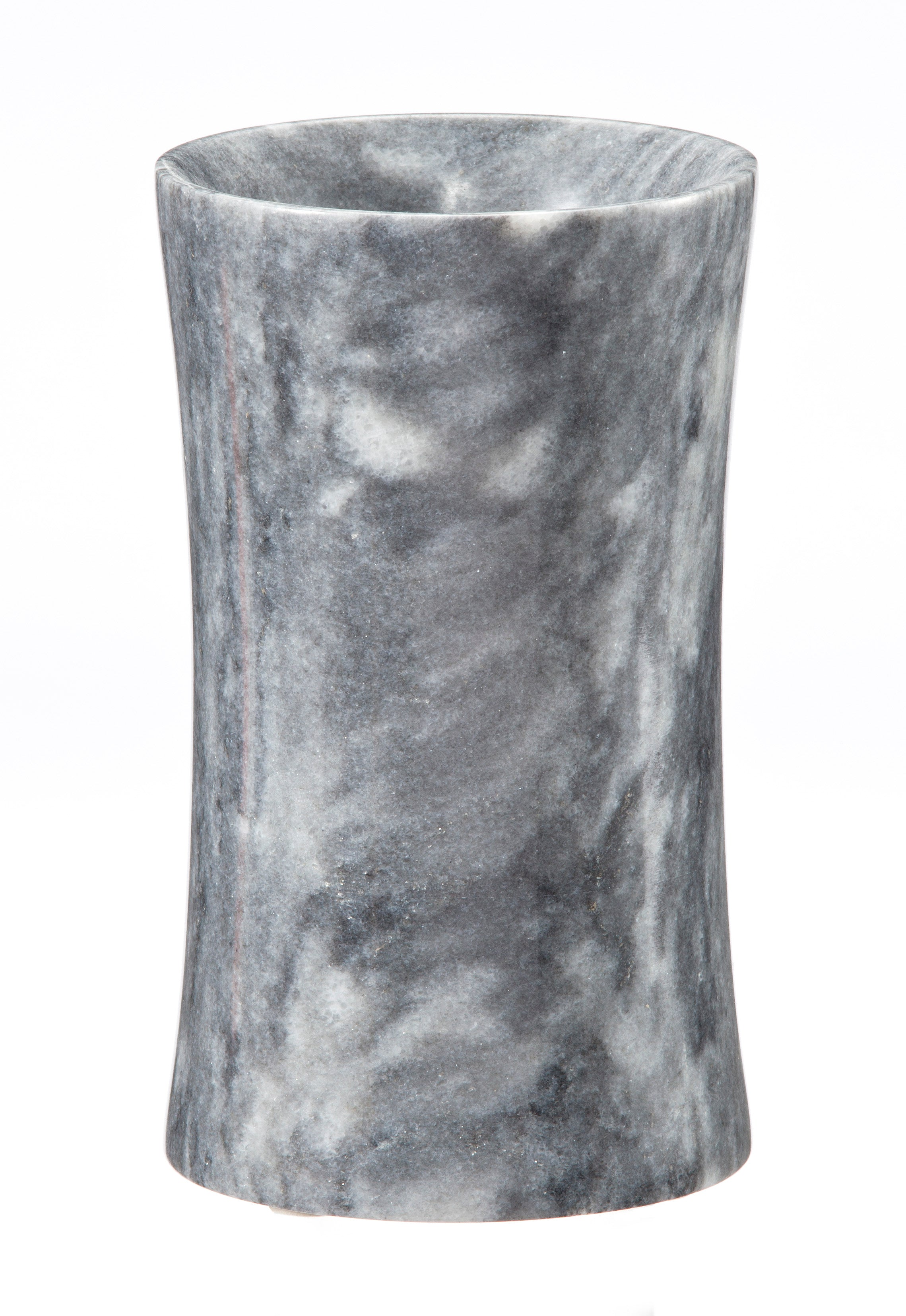 Vinca Collection Cloud Gray Marble Tumbler