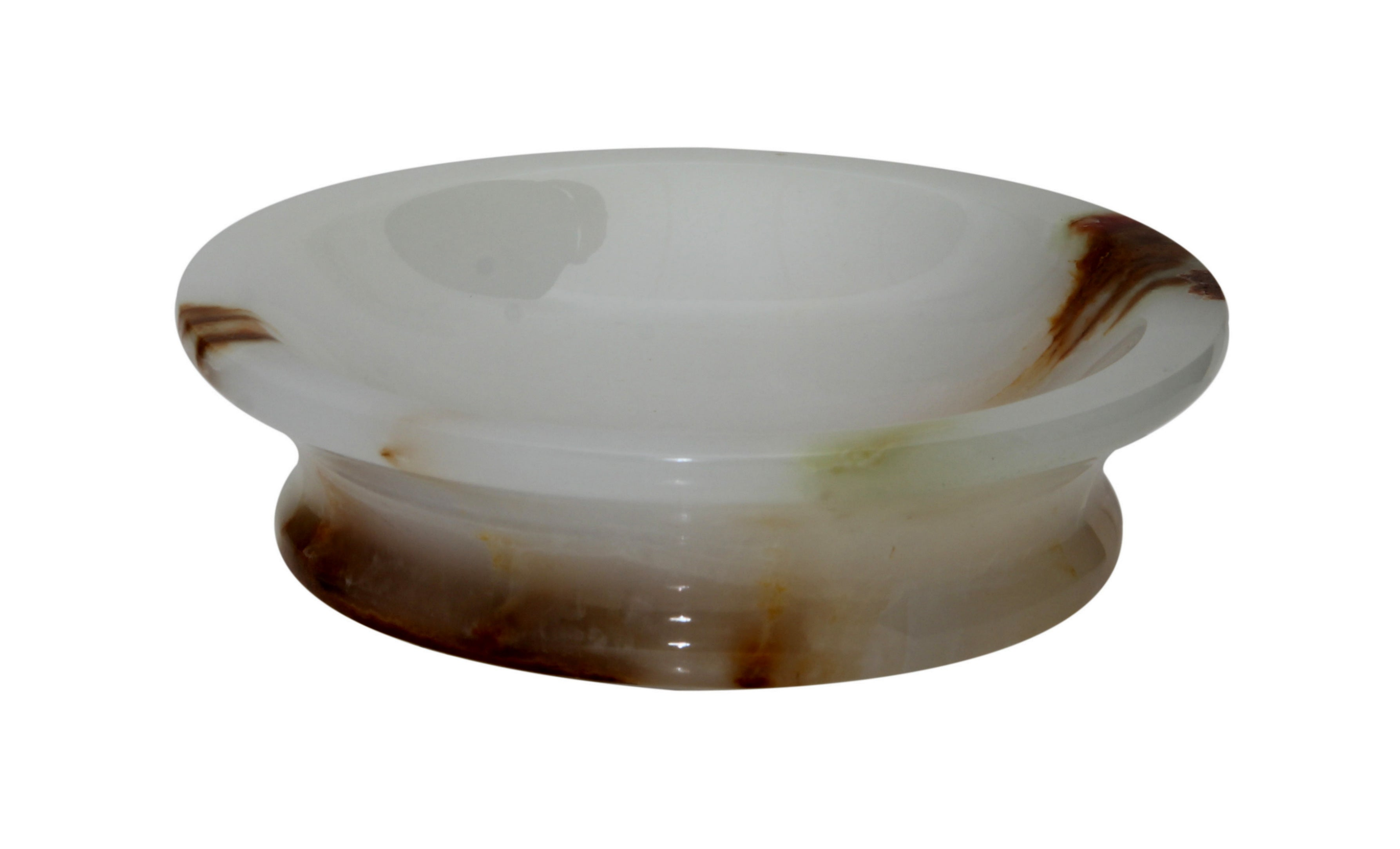Vinca Collection Light Green Onyx Soap Dish