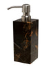 Myrtus Collection Black & Gold Marble Soap Dispenser