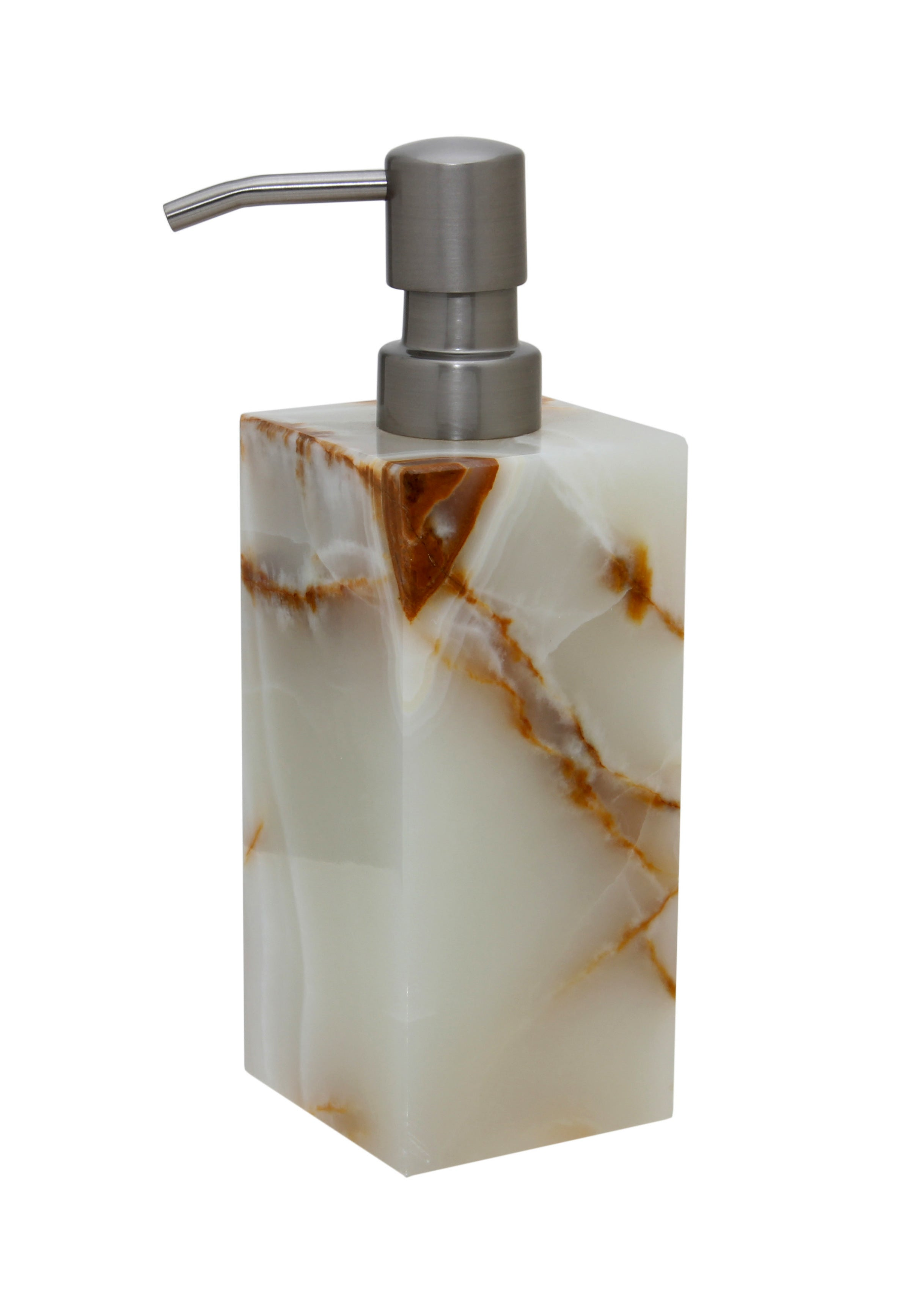 Myrtus Collection Light Green Onyx Soap Dispenser