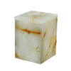Myrtus Collection Light Green Onyx Canister