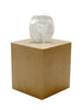 Myrtus Collection Verona Beige Marble Tissue Box Holder