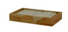 Myrtus Collection Teak Stone Guest Towel Tray