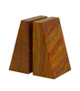 Zeus Collection Saffron Brown Onyx Bookends