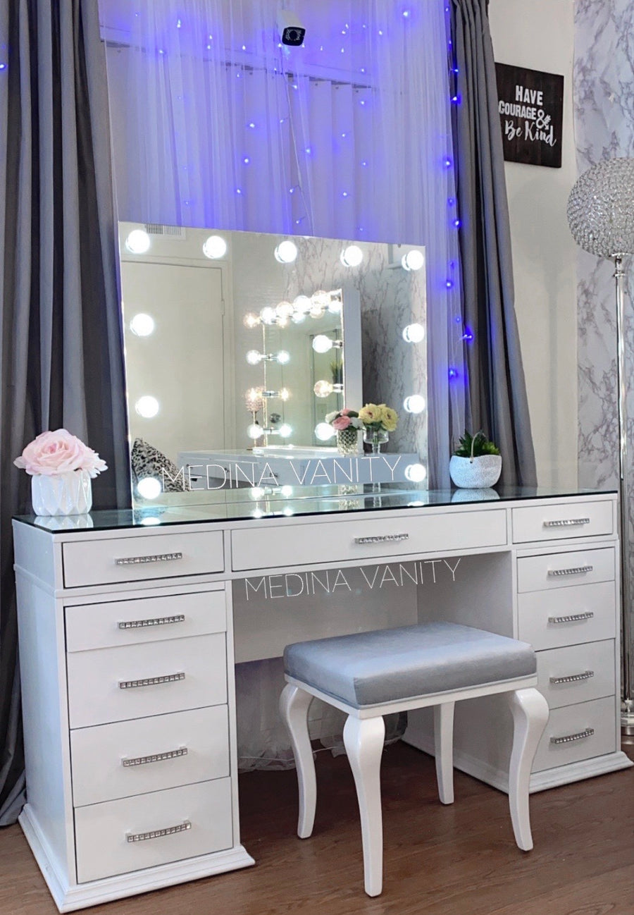 Dior Vanity Mirror + Table + stool Bundle