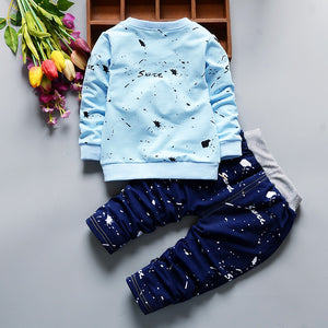 Full Length Cotton Casual toddler boys clothing