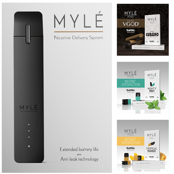 MYLE and MYLE Pods Image