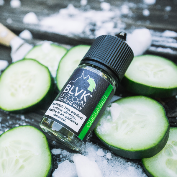 BLVK CUCUMBER SALT NIC LIQUID 30ML