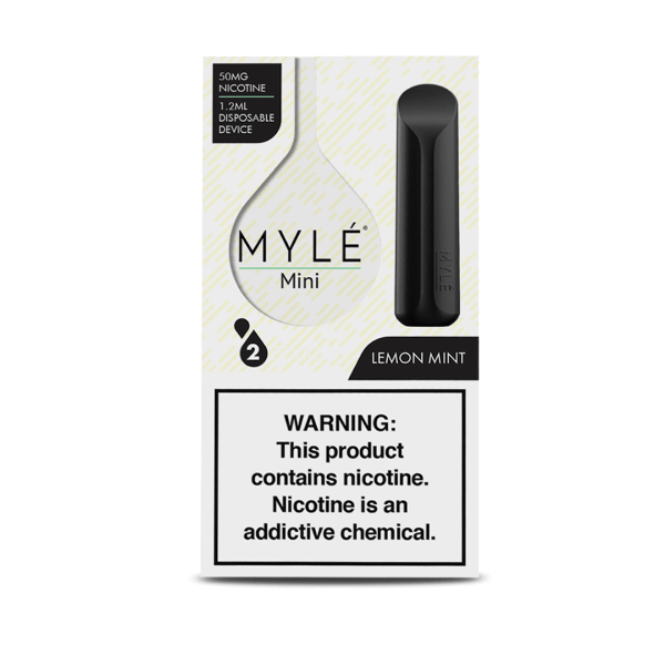 MYLE Mini Lemon Mint Package