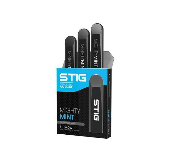 STIG - DISPOSABLE POD DEVICE - MIGHTY MINT