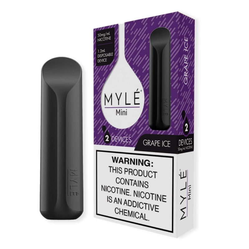 MYLE MINI GRAPE ICE | 2 DEVICE PACK | PRICE POINT NY
