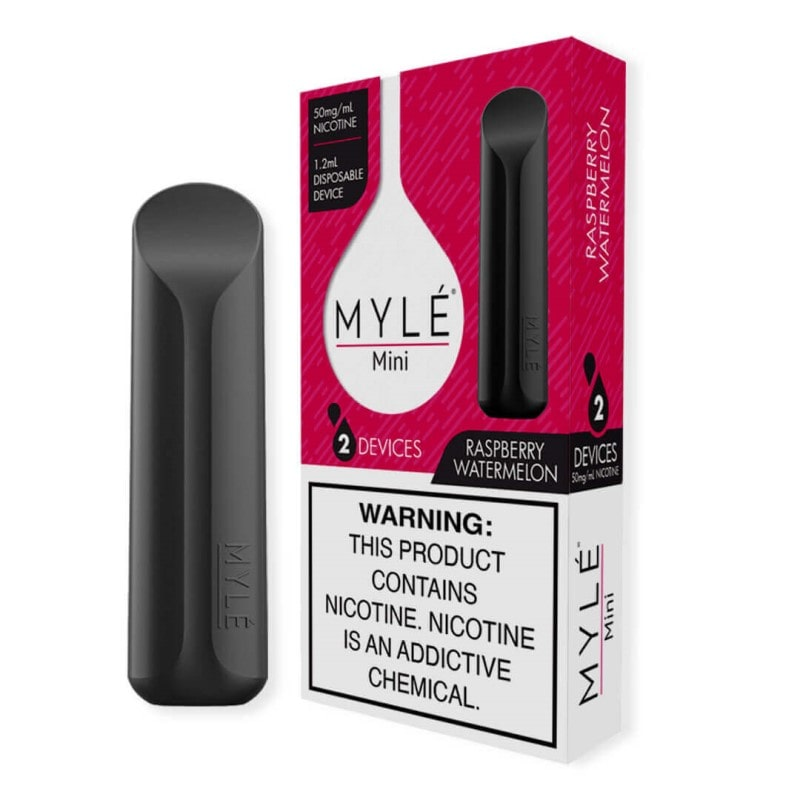 MYLE MINI Raspberry Watermelon | 2 DEVICE PACK | PRICE POINT NY