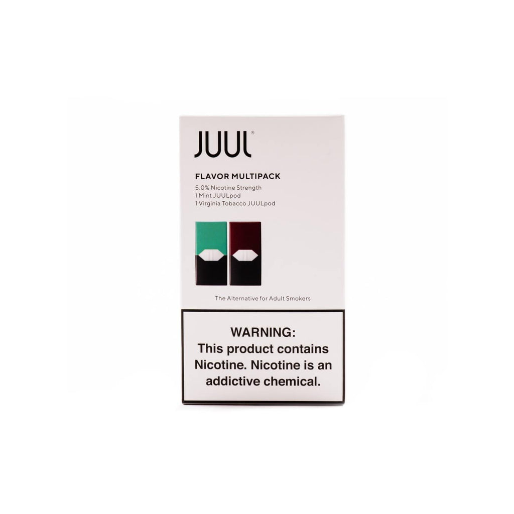 JUUL 4-Pod Multipack | Mint, Tobacco, Creme, & Mango | Price Point NY