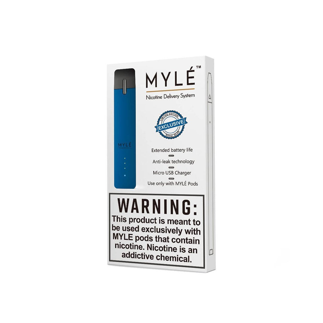 MYLE Device - Royal Blue