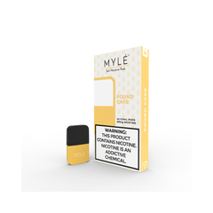 MYLE Pound Cake Pods | 4 Pack | Salt Nic Pods | Price Point NY