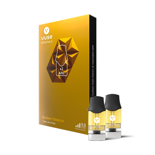 VUSE Alto Golden Tobacco Pods | Price Point NY