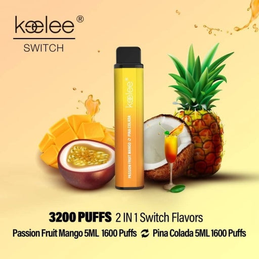 keelee Switch 2-in-1 Disposable Device - Passion Fruit Mango & Pina Colada | Price Point NY