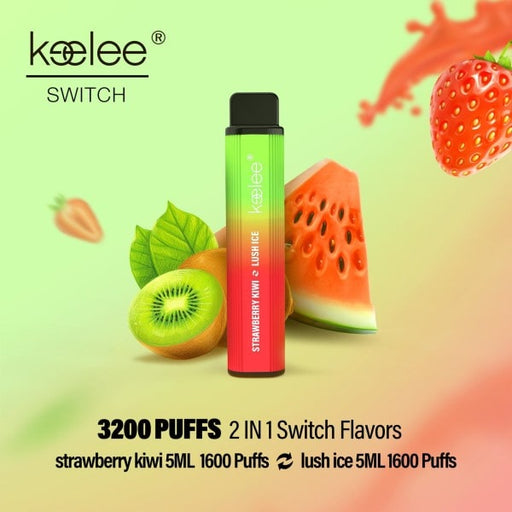 keelee Switch 2-in-1 Disposable Device - Strawberry Kiwi & Lush Ice | Price Point NY