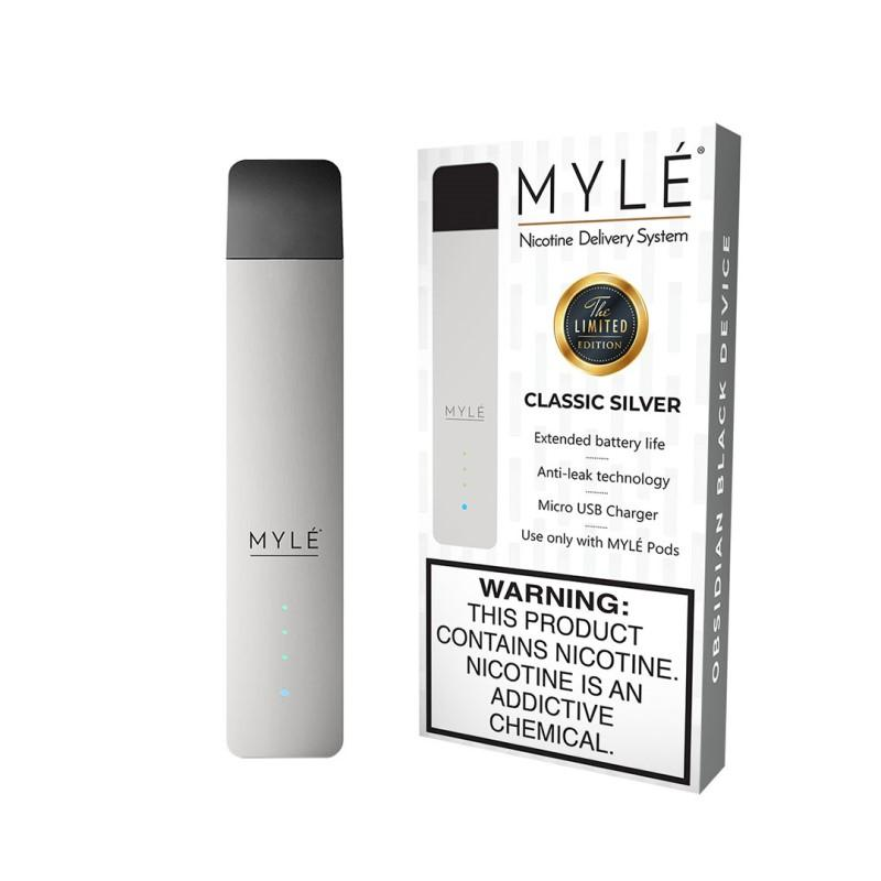 MYLE DEVICE - CLASSIC SILVER | PRICE POINT NY