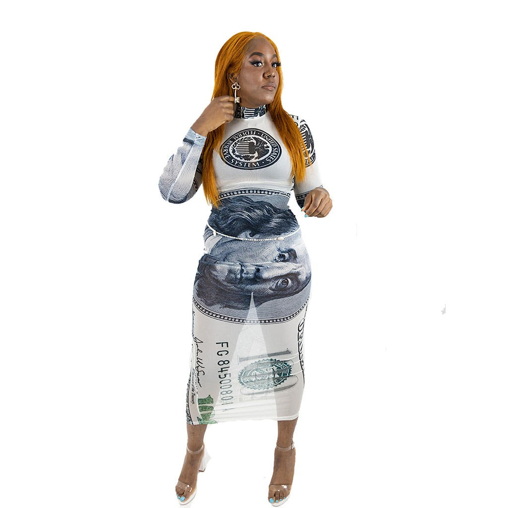 New money dress