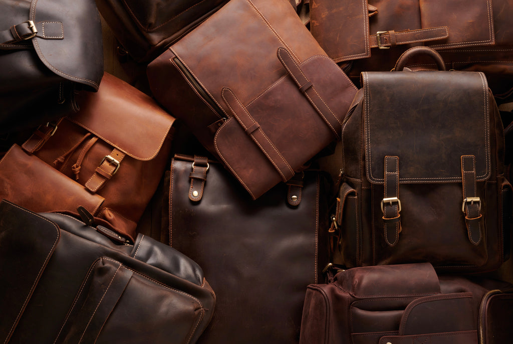 Full Grain Leather Backpacks