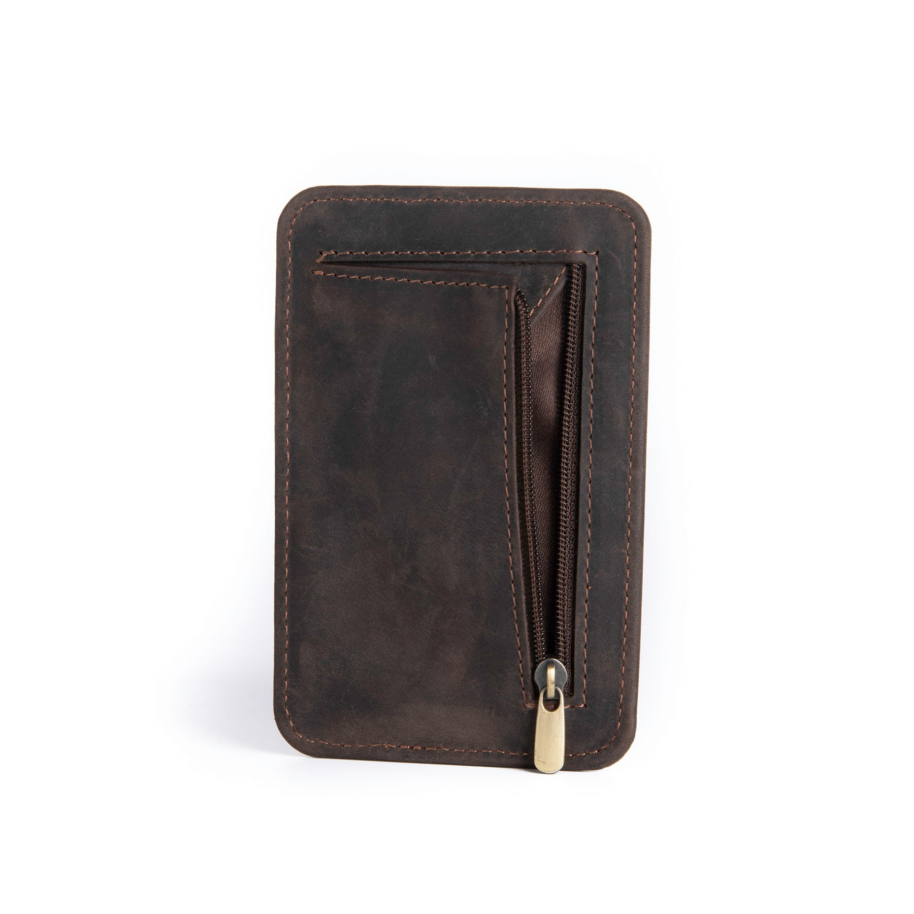 Canyon Leather Wallet - Chestnut 4