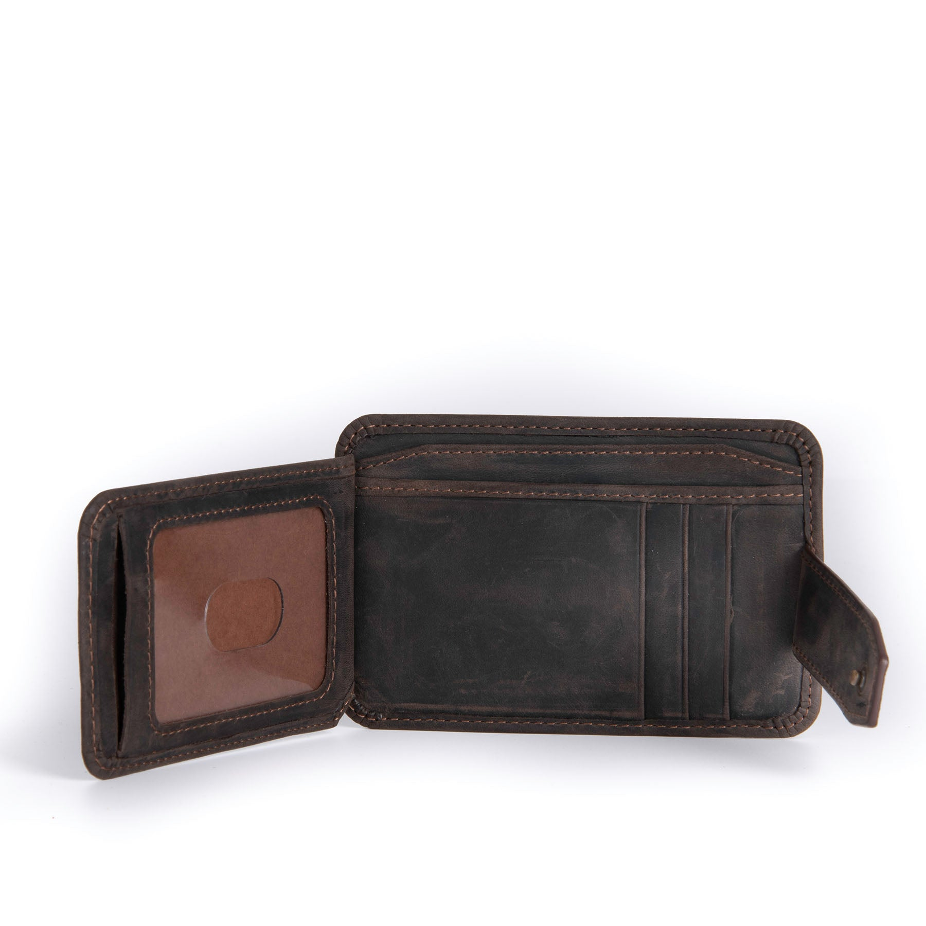 Canyon Leather Wallet - Chestnut 5
