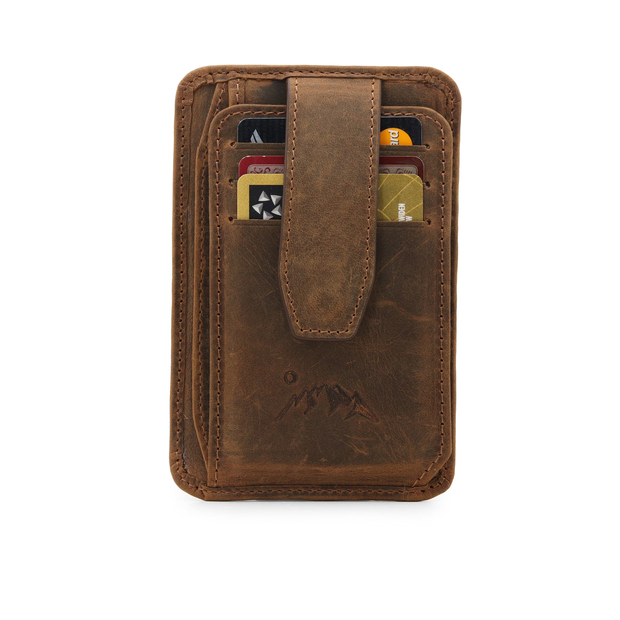 Canyon Leather Wallet - Cinnamon 2