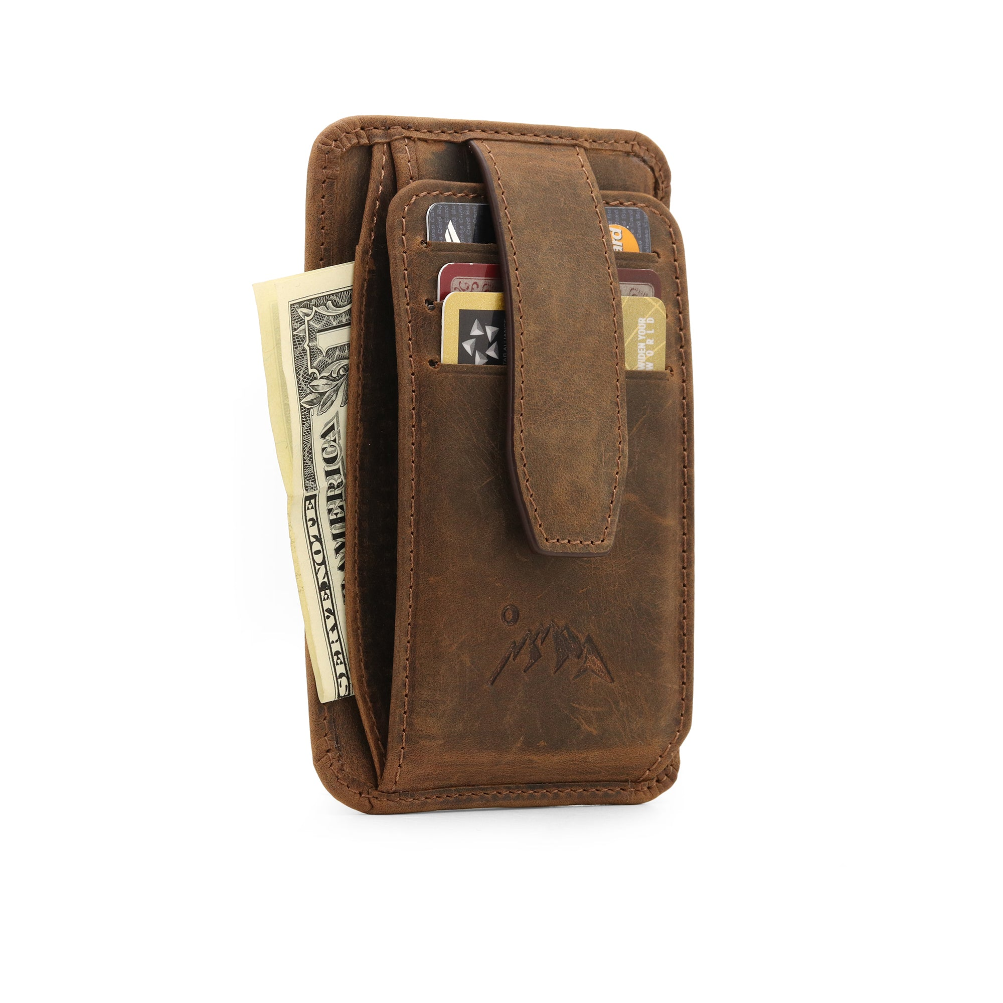 Canyon Leather Wallet - Cinnamon 3