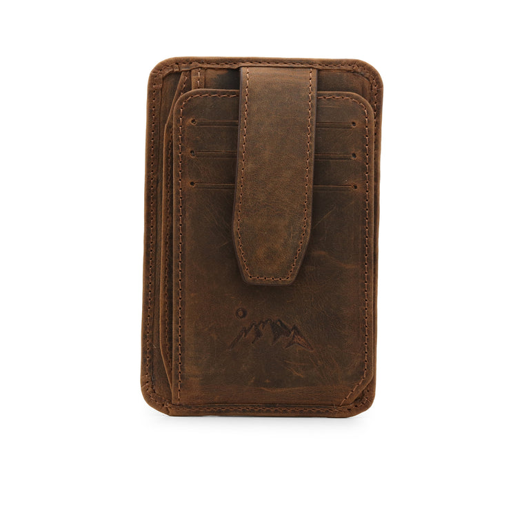 Canyon Leather Wallet - Cinnamon
