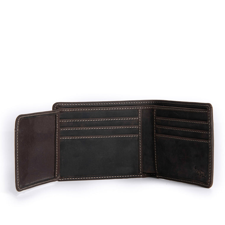 Liard Leather Wallet - Chestnut 1
