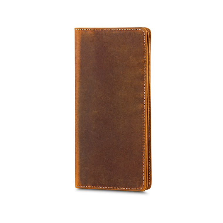 Peel Leather Wallet - Camel