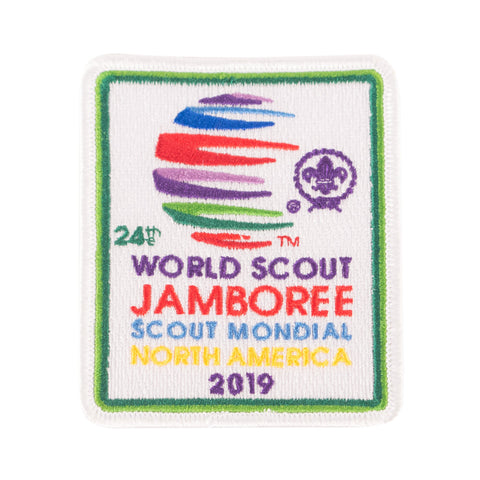 WJ19 Souvenir Patch English